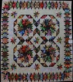 Come Quilt (Sue Garman): Quilt Friendships Amische Quilts, Star Quilts, Quilt Blocks, Quilting Blogs, Quilting Designs, Quilting Ideas, Hunters Star Quilt, Millefiori Quilts, Quilt Border