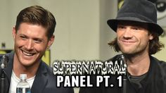 Another Video of the panel that is better quality but further away --Supernatural Panel Part 1 - Comic-Con 2014