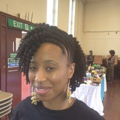 Owner of Be Unique. Her twist out on natural hair rocks.