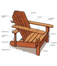 Build It: Adirondack Chair #DIY - This Old House