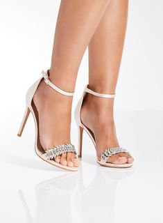 2c911eb8390a6  Quiz Pink Jewel Feather Sandals