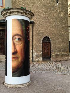 Weimar Johann Wolfgang Von Goethe, Color Theory, Authors, Writers, Evolution, Street Art, Mona Lisa, Culture, Public