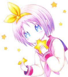 Anime Lucky Star Tsukasa Hiiragi