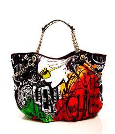 STREET CHIC GRAPHIC SHOPPER | Handbags | Henri Bendel