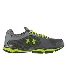 Look at this #zulilyfind! Under Armour® Charcoal Grade School Micro G® Pulse Training Shoe by Under Armour® #zulilyfinds