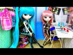 ▶ How to Make a Doll Backstage Dressing Room - YouTube