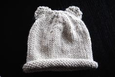 Ravelry: Baby bear hat pattern by Gilda Knits