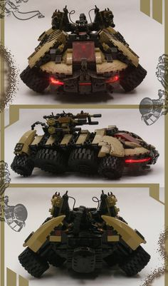 Awesome LEGO Hover Tank!
