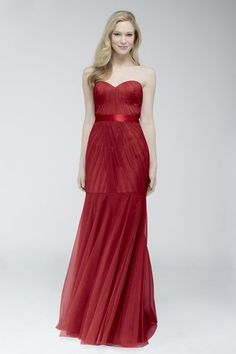 Wtoo 752 I Bridesmaid Dress in Burgundy