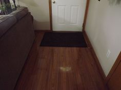How to Clean Laminated Floors - Just did this and it worked great! Drying without streaks!