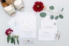 romantic franciscan gardens wedding stationary   Kaysha Weiner Photographer   Wedding Photography   Southern California Photography