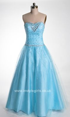 prom dress 2014 UK ball gowns blue