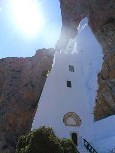 Panagia Hozoviotissa monastery, Amorgos, Cyclades