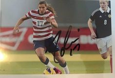 tobin heath uswnt world cup champions portland thorns 4x6 autographed photo from $19.99