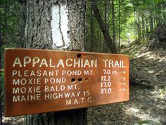 The Appalachian Trail crosses the Kennebec in Caratunk, just below The Forks