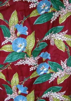 Image result for 50s french floral fabric