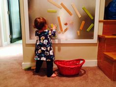 Magnetic Play Wall for Playroom Bedroom or Child's by WoodOhio, $69.99