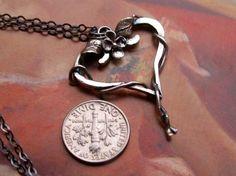 Heart Vine Necklace