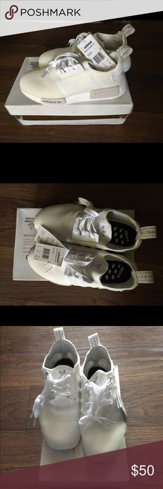Adidas NMD Never worn, perfect condition. Men 7.5 but fits women size 9 Adidas Shoes Athletic Shoes