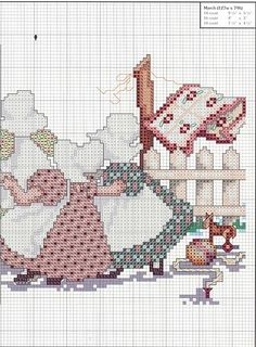 Nostalgie cross stitch 2 v 2