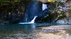 Wynoochee River Falls