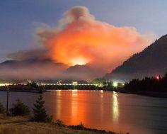 The Eagle Creek Fire of 2017, near Cascade Locks, OR