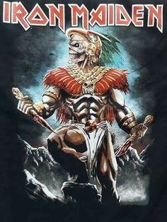 Bruce Dickinson, Music Pics, Art Music, Hard Rock, Iron Maiden Mascot, Iron Maiden Albums, Iron Maiden Posters, Eddie The Head, Heavy Metal Rock
