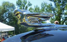 1941 Cadillac hood ornament.  Photography by David E. Nelson, 2017