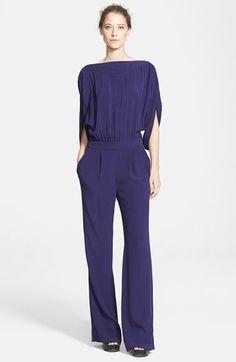 Diane von Furstenberg 'Dezi' Blouson Jumpsuit available at #Nordstrom