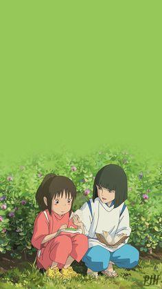 Lockscreens from Hell (PIH) Spirited Away Anime, Studio Ghibli Spirited Away, Spirited Away Poster, Anime Scenery Wallpaper, Cartoon Wallpaper, Iphone Wallpaper, Studio Ghibli Art, Studio Ghibli Movies, Animes Wallpapers