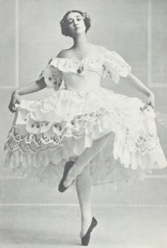 'Les Papillons' 1912 - Tamara Karsavina - The choreographer George Balanchine said he had fond memories of watching her when he was a student at the Imperial Ballet School. During her years with the company, she created many of her most famous roles in the ballets of Mikhail Fokine, including Petrushka and Le Spectre de la Rose. She was perhaps most famous for creating the title role in Fokine's The Firebird with Vaslav Nijinsky