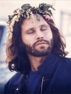 jimbo in a flower crown