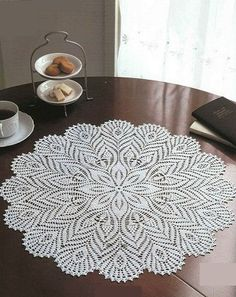 Crochet large doily ♥️LCD-MRS♥️ with diagrams.