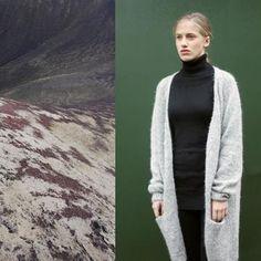 Strikkeopskrift - Enkel og elegant trøje til hverdag eller fest.