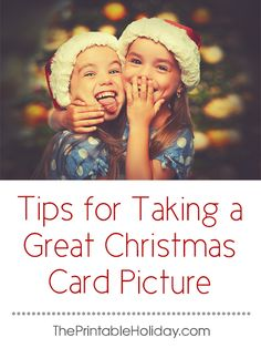 If you love sending Christmas cards to family and friends, don't feel like you need a professional photographer to help you capture the perfect Christmas card picture. With a little prep work, you can easily take a great shot from the comfort of your home. | Tips for Taking a Great Christmas Card Picture from #ThePrintableHoliday