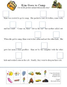 Ms. Lane's SLP Materials: Articulation-Initial K Story Activity. Pinned by SOS Inc. Resources. Follow all our boards at pinterest.com/sostherapy for therapy resources.