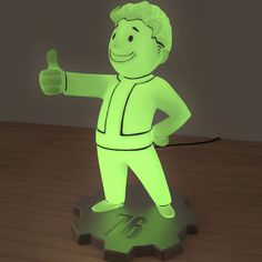 Give your room a S. post-apocalytpic vibe with Numskull's officially licensed Fallout 76 Vault Boy LED lamp. The lamp is almost tall and Fallout Bos, Fallout Game, Winter Is Coming Stark, Pip Boy, Video Game Rooms, Video Games, Usb Lamp, Otaku Room, House Games