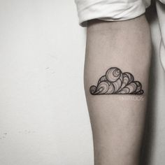 Creative cloud tattoo by Fin Tattoo                                                                                                                                                                                 Mehr