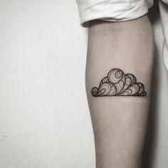 Creative cloud tattoo by Fin Tattoo                                                                                                                                                                                 Mehr