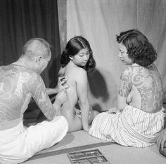 ANCIENT ART OF THE JAPANESE TEBORI TATTOO MASTERS