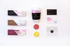 Macaron Boutique concept branding by Emily Tumen