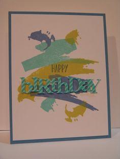 IC591 Watercolor Birthday
