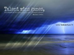"""Talent wins games but teamwork and intelligence wins championships"" - Free Facebook Timeline Cover With Great Daily Inspirational Quote by - Michael Jordon"