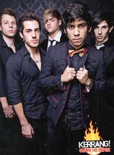 Crown The Empire, i can't wait to go see them <3 @Halley Humphreys
