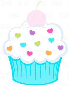 Cupcake Crafts, Cupcake Art, Drawing For Kids, Art For Kids, Crafts For Kids, Birthday Frames, Birthday Board, Felt Crafts, Paper Crafts