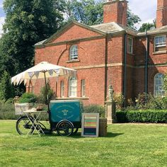 Ice cream bicycle at Norwood Park, Southwell