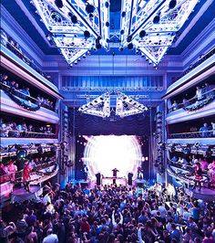 7 floors of enjoyment at Kapital Club, Madrid Night Leisure.  This was called Titanics when I lived there I believe