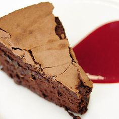 Clinton Street Baking Company's Flourless Chocolate Cake
