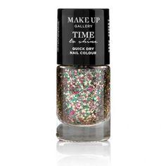 Make Up Gallery Time To Shine Nails Rainbowsparkle