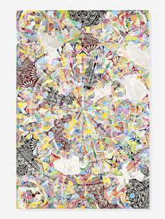 Rare that I like his stuff: MANDALA SHAPES INTO SCALPEL BLADE PAINTINGS SERIES BY DAMIEN HIRST
